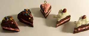 Cake Charms by cinnamonlilies
