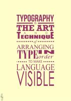 Typography is . . . by hayyulathief