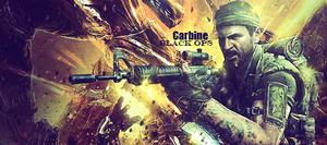 Carbine - Black ops by Kinetic9074