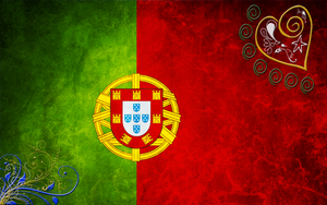 Portugal Flag Widescreen by psy5510