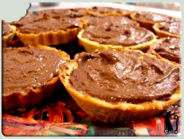 Chocolate Tartlets by Talty