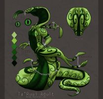 Green Envy Ta'Ruui Adopt Auction by Naeomi