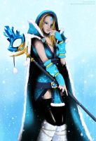 DotA 2 - Crystal Maiden by GlacyRoserade