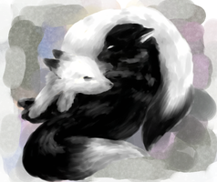 Yin and Yang: before the end by Self-Eff4cing