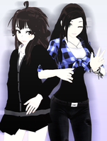 Best friend [MMD][Request] by Deiroko