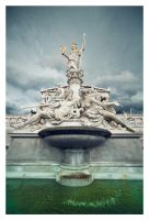 Fountain in Vienna by ReneAigner
