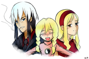 MMNTW: Ijuuin family by ZA-18
