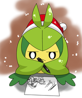 Swadloon drawing some