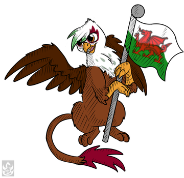 Welsh Gryph by StormBlaze-Pegasus