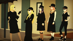 AHS:Coven crossover by steampunkskulls