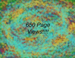650 Page Views- Thanks by Destroyer77
