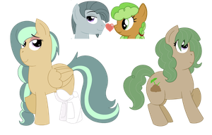 MLP:FiM: InkyCobbler girls *NEED NAMES* by Strawberry-Spritz