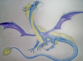 dragon of the wind by terrabird7