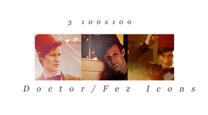 3 DoctorFez Icons by TinaTurtle