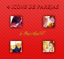 Icons - Parejas by GrayAngel15