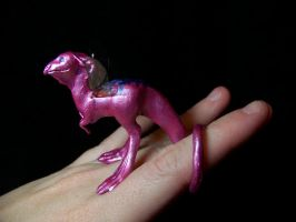 little pink dragon by AmandaKathryn