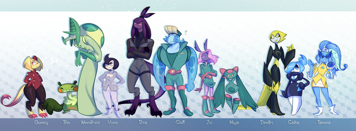 Space Lineup by Vongulli