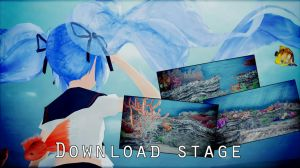 MMD Stage under water DL by ElviraMoa