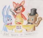 Welcome to Freddy's! by Azulona