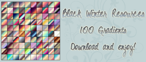 Black Winter Gradients by blackxwinter