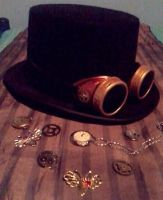 Steampunk Accessories by SteampunkChile
