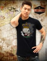 Poker T-shirt by johnnyspadewear