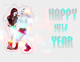 Happy New Year -the veronicas by Sevein18