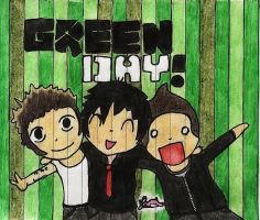 Green Day :3 by raptor-rawr