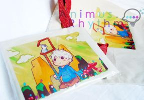 Rotg: Jack Frost Tote bag by Animus-Rhythm