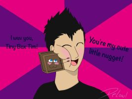 Mark-a-day 2, Tiny Box Tim by DeLowl