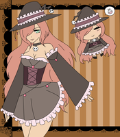 (CLOSED) Point Adoptable: Witch Girl by Acetyless-Adopts