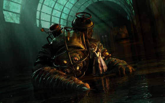 BioShock - Mr. Bubbles Death by PsychicAbyss88