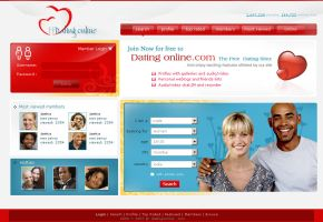 Dating Web Site by vinoyd