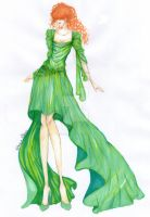Emerald Butterfly by Mellorine91