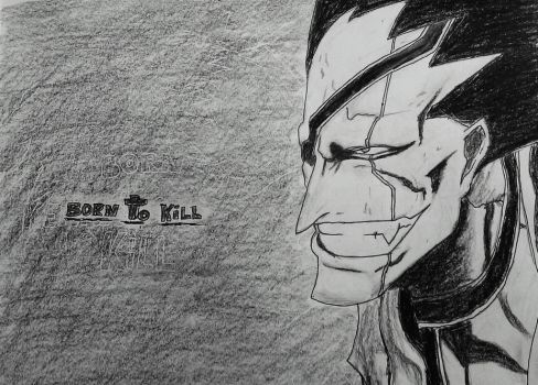 Kenpachi Zaraki by bountyhunter84