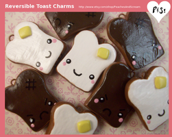 Adorable Reversible Toast Char by Vixie-Bee