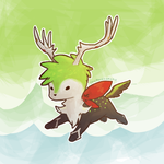 Shaymin x Xerneas by epicawesomepieisepic
