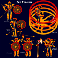 The Axe-Man by ISawEverything