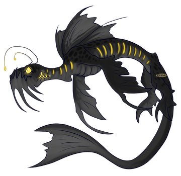 [DC] Creepy Fish by EVR4H