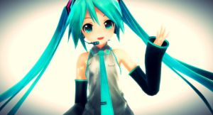 .: Appearance Miku :. by Kara-chann