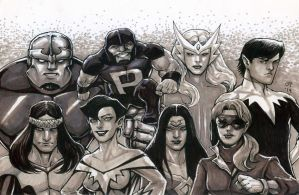 Alpha Flight by olybear