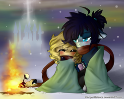 .:Not so cold with you...:. by Angel-Balance