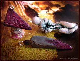 Silent Hill Charms by ZombiDJ