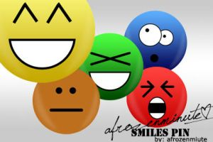 Deviant Art Smiles Pin by afrozenminute