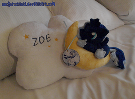 Luna Pillow by zuckerschnuti