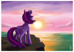 Twilight at Twilight - AvA Round 1 by StyxLady
