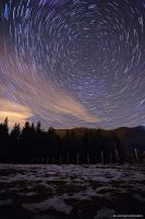 Star Trails by FrozenWhisperx