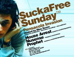 Sucka Free Sunday A by subspaceNinja