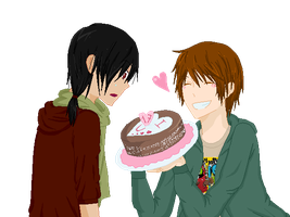 .:Happy Birthday BFF:. by kiba-kun1289