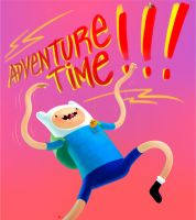 ADVENTURE TIME by adamtanart